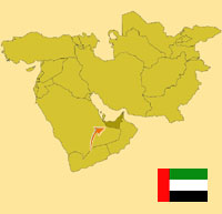 Globalization guide - Map for localization of the country - United arab Emirates
