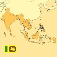 Globalization guide - Map for localization of the country - Sri Lanka